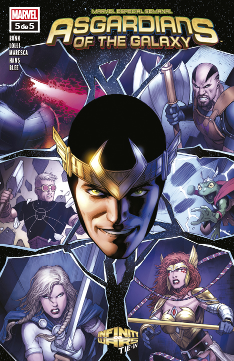 Asgardians of the Galaxy #5 (de 5)