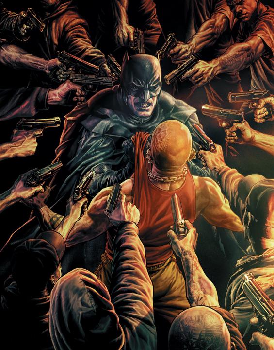 Una breve guía para no perderte dentro de Batman: Damned