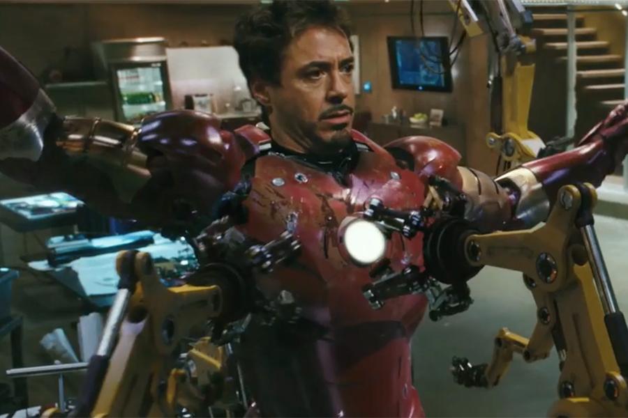 Así fue la prueba de cámara de Robert Downey Jr. como Iron Man