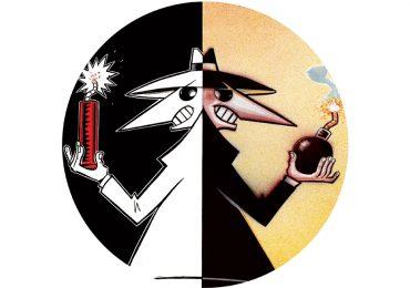 Spy vs Spy: Celebración Explosiva... Las locuras de los espías toman color