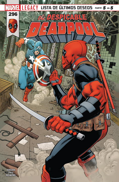 The Despicable Deadpool #296