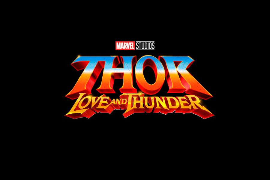 ¿Qué es primero, Thor 4 o Guardians of the Galaxy Vol. 3? James Gunn aclara. Logo Thor: Love and Thunder