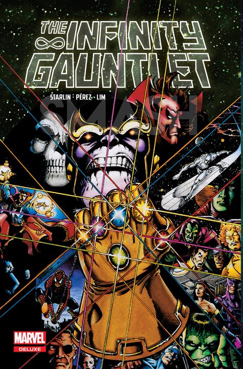 Razones para tener The Infinity Gauntlet en formato Deluxe