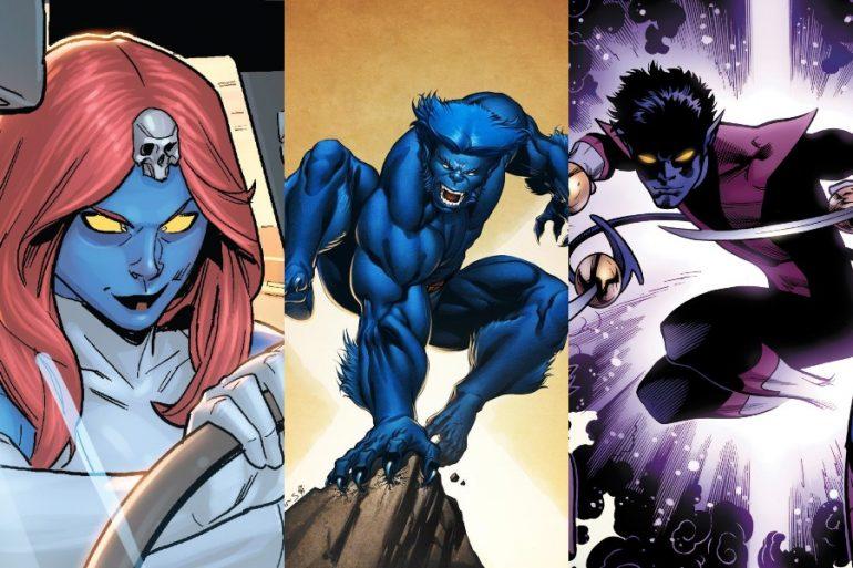 La ciencia explica porqué algunos mutantes son de color azul