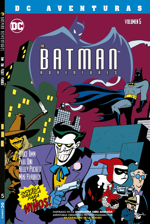 DC Aventuras The Batman Adventures Volumen 5, Joker