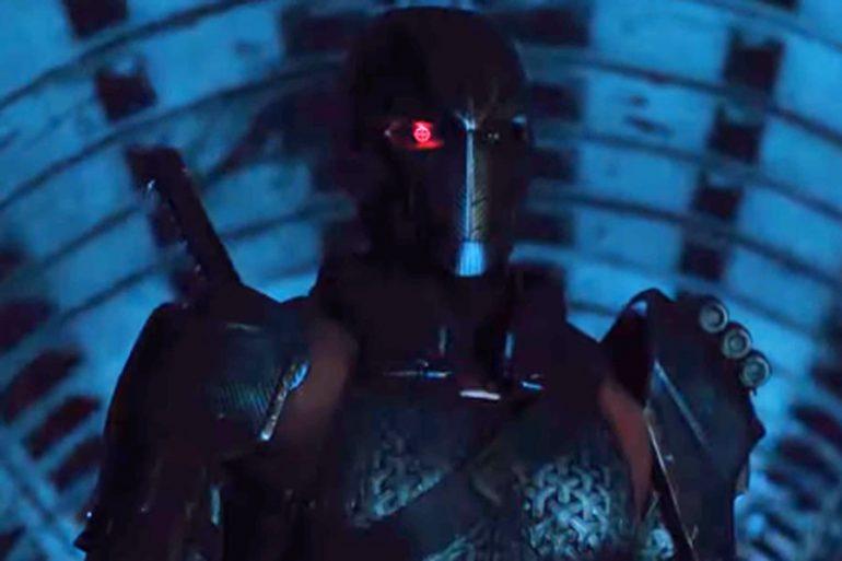 Deathstroke irrumpe en el póster de Titans 2