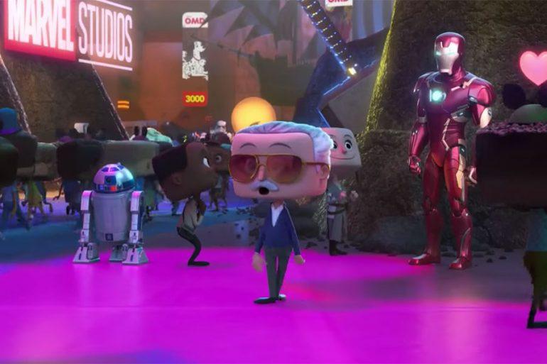 El cameo de Stan Lee en Ralph predijo una escena de Avengers: Endgame