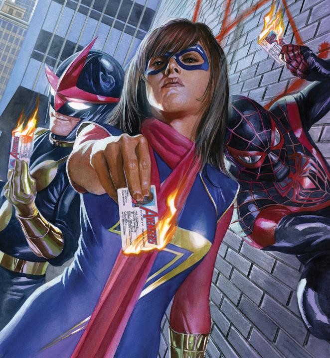 ¿Quién es Ms. Marvel?