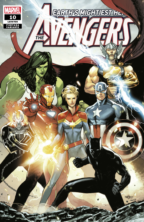 The Avengers Earth's Mightiest Heroes #10