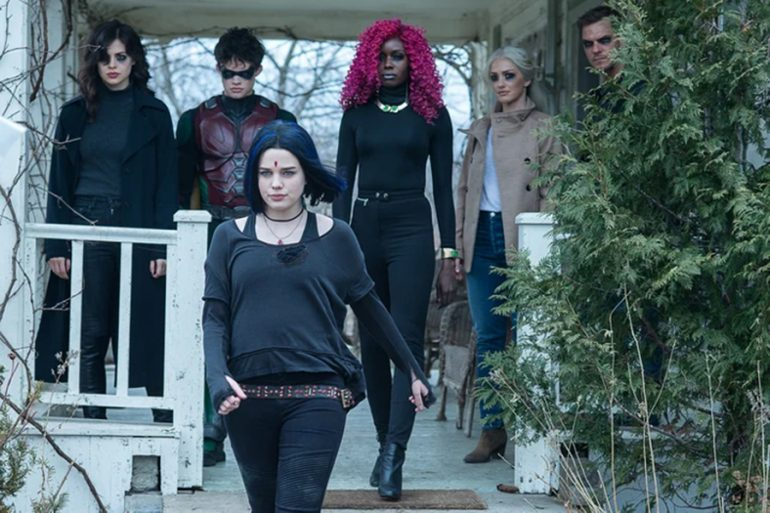 Raven al rescate, en la segunda temporada de Titans