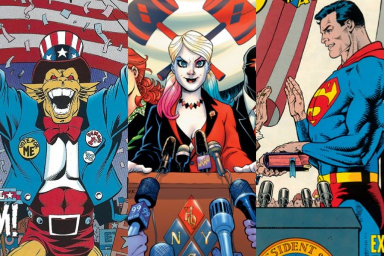 Top 10: personajes políticos de DC Comics