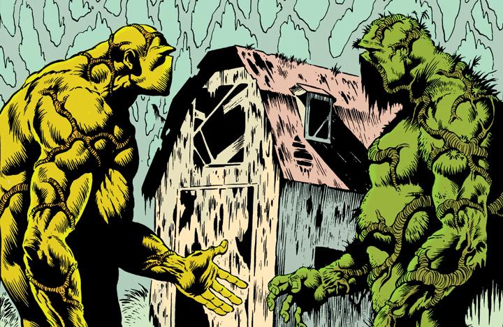Los poderes no tan recordados de Swamp Thing