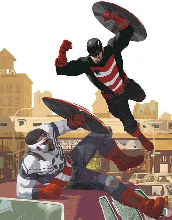 Falcon y U.S. Agent