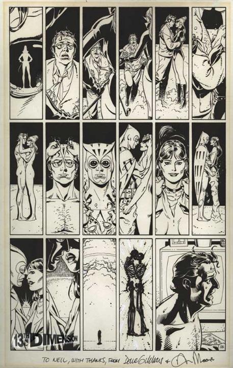 La aportación de Neil Gaiman a Watchmen