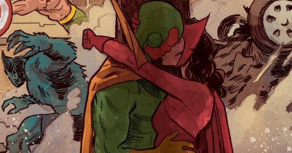 Tom King y el homenaje al romance entre Vision y Scarlet Witch