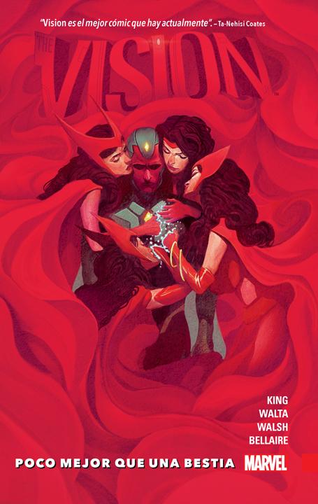Tom King y el homenaje al romance entre Vision y Scarlet Witch