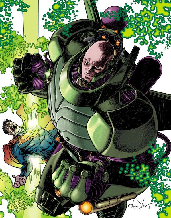Lex Luthor y su armadura