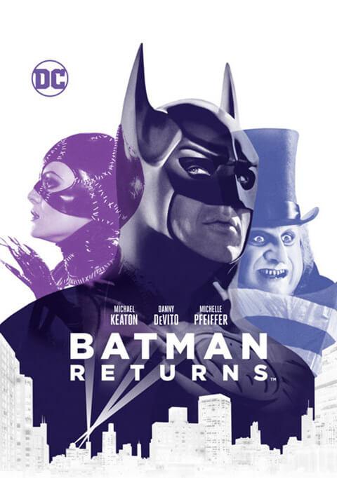 Así son los nuevos artes de las primeras películas de Batman