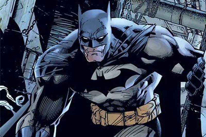 Batman y su bati-cinturón.