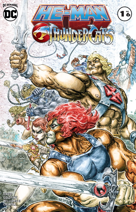 DC Semanal: He-man/Thundercats #1 (de 6)
