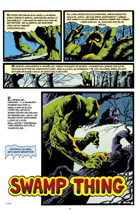 DC Vertigo Deluxe Swamp Thing: La Edad de Bronce Clásico