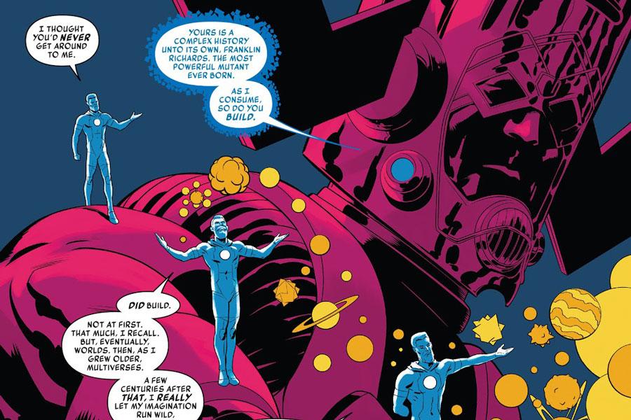 Franklin Richards, el mutante más poderoso del Marvel Universe.