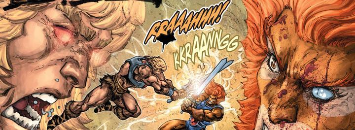 He-Man/Thundercats: Un choque de mundos que llega a DC Semanal