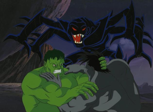 Hulk, series animadas de Marvel.