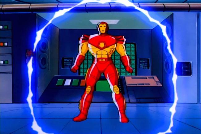 Iron Man, series animadas de Marvel.