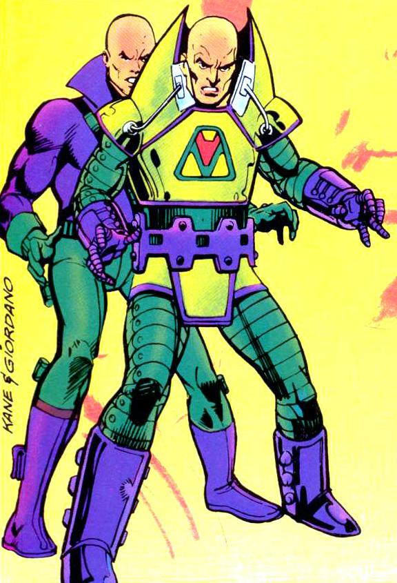 Lex Luthor y armadura.