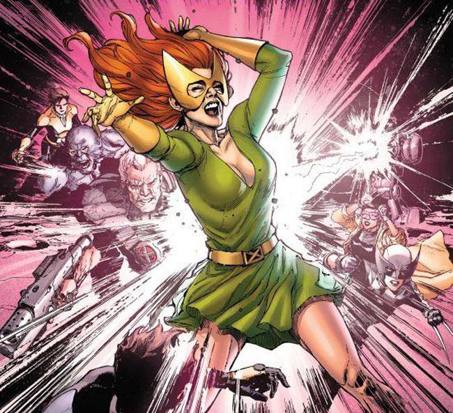 Jean Grey es un mutante omega.