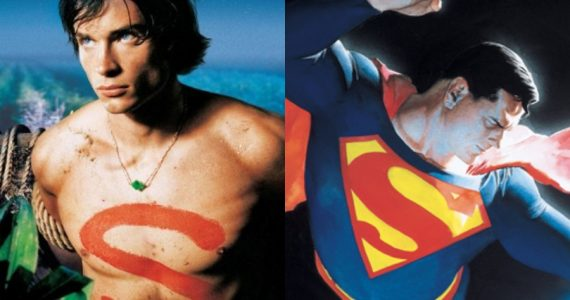 Así se verá Tom Welling como Superman, según Alex Ross