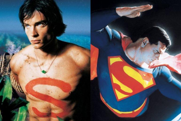 Así se verá Tom Welling como Superman, según Alex Ross