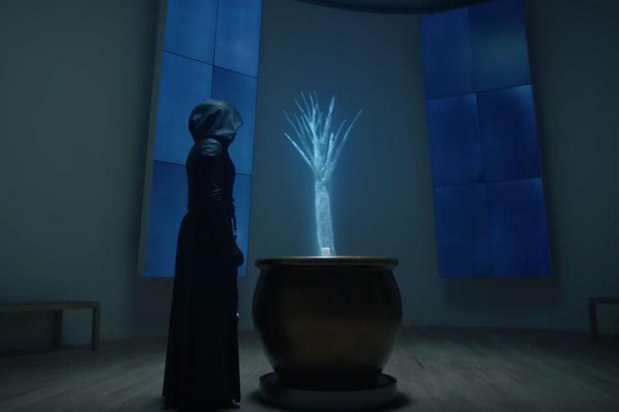 Escena de la serie Watchmen.