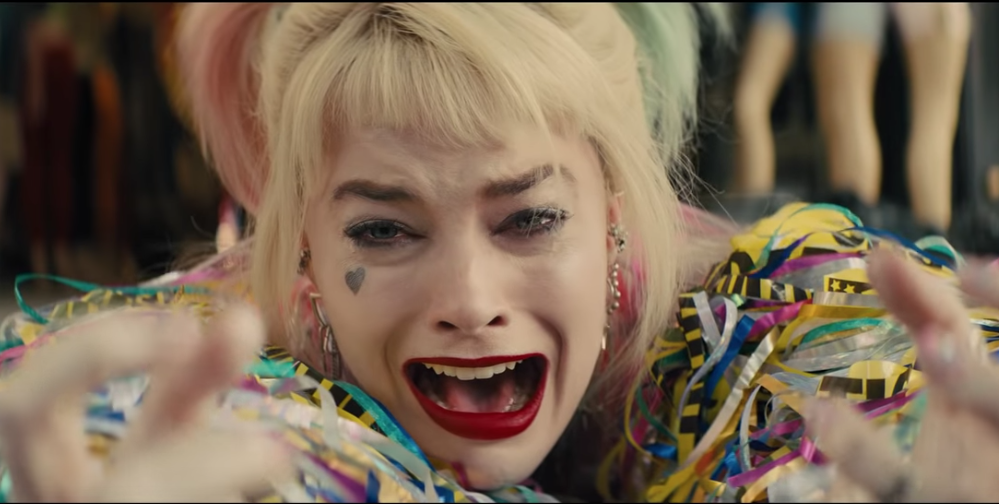 Harley Quinn en Birds of Prey.