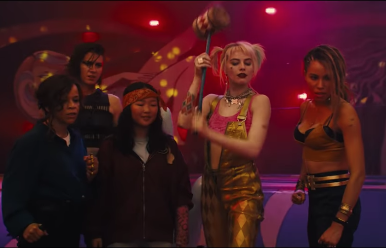 Escena de Birds of Prey.