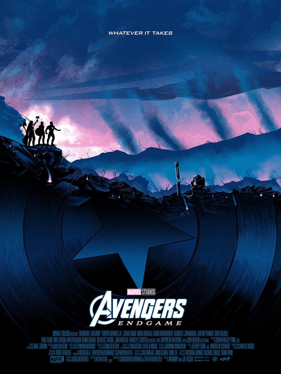 Póster exclusivo Avengers: Endgame Comic Con Nueva York.