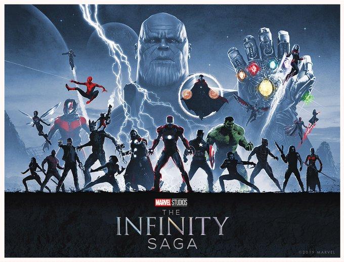 Marvel Infinity Saga.