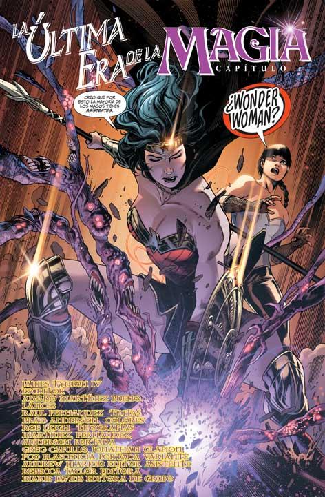 Justice League Dark: La Última Era de la Mágia