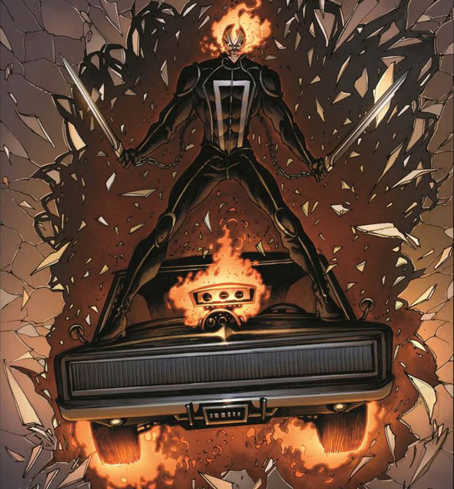 Hell Charger es un vehículo de Marvel.