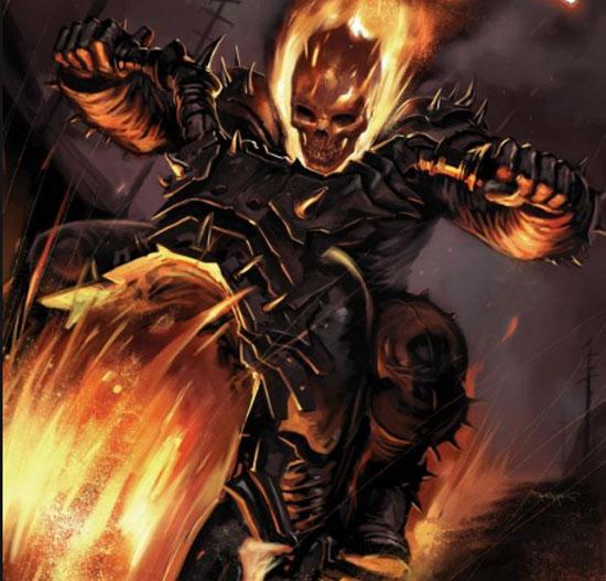 Hell Cycle e sun vehículo en Marvel.