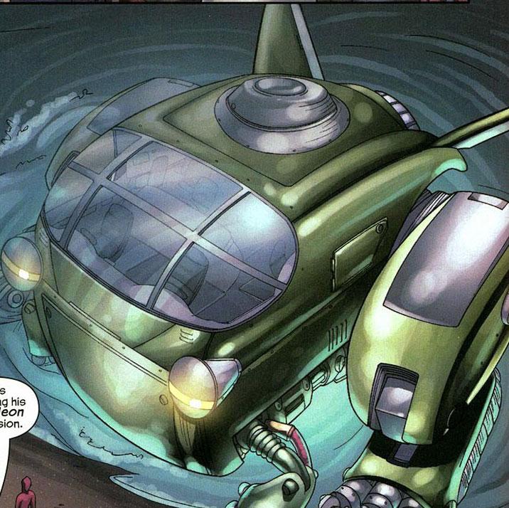 LeapFrog es un vehículo de Marvel.