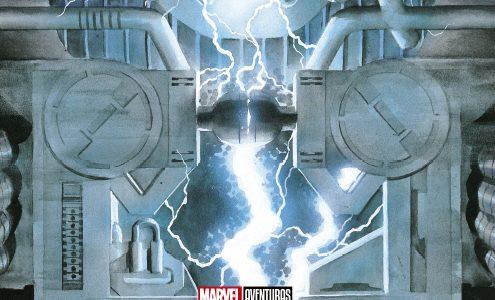 Marvel Aventuras Marvels Poster Book con el Arte de Alex Ross
