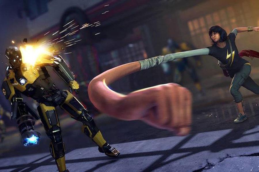 Ms. Marvel se hace presente en el videojuego de los Avengers.