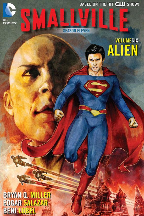 Smallville temporada 11 es canon para Crisis en las Tierras Infinitas.