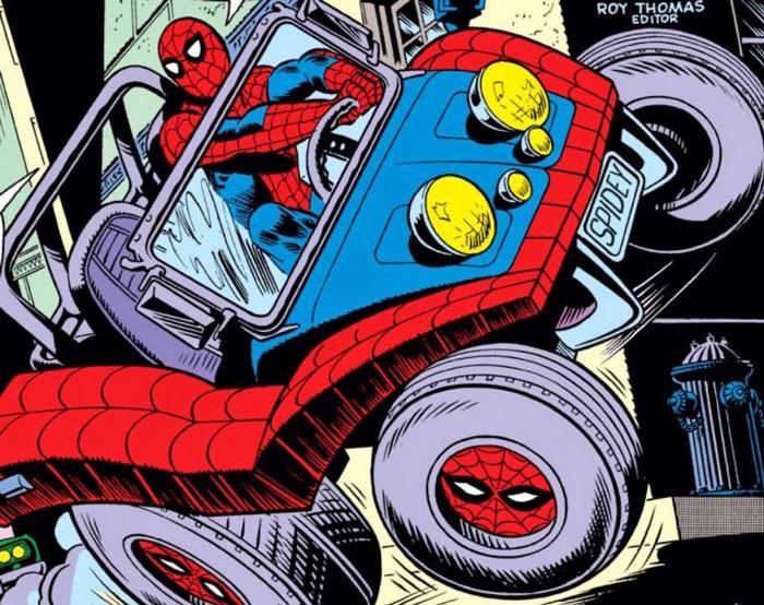 Spider-Mobile es un vehículo en Marvel.