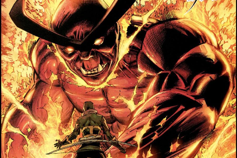 SURTUR, villanos demoníacos en Marvel.