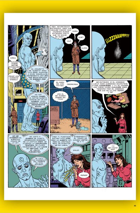 Watchmen, la obra de Moore y Gibbons bajo la aguda mirada de MAD