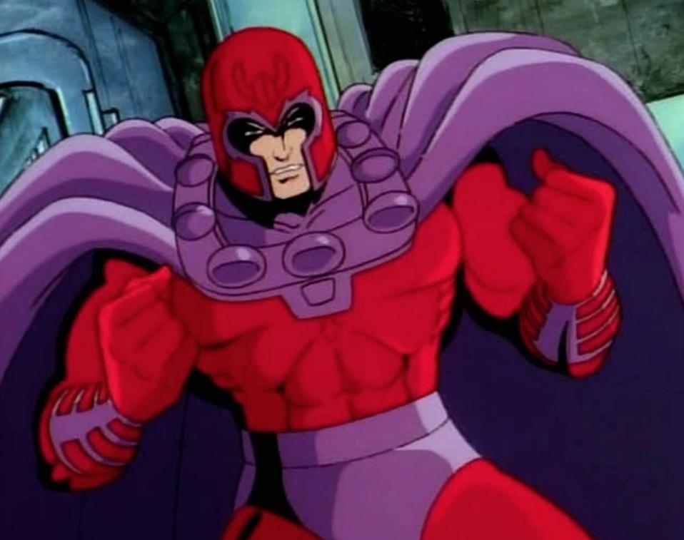 villanos serie animada X-Men