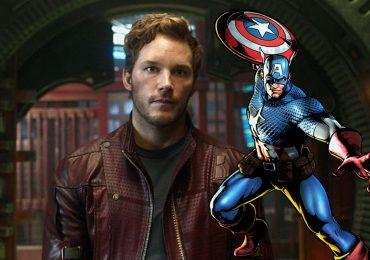 Chris Pratt audicionó para ser el Capitán América
